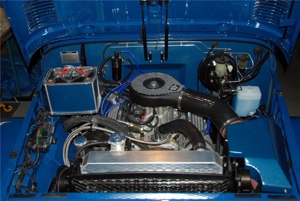 1973 TOYOTA LAND CRUISER FJ-40 CUSTOM SUV - Engine - 116194