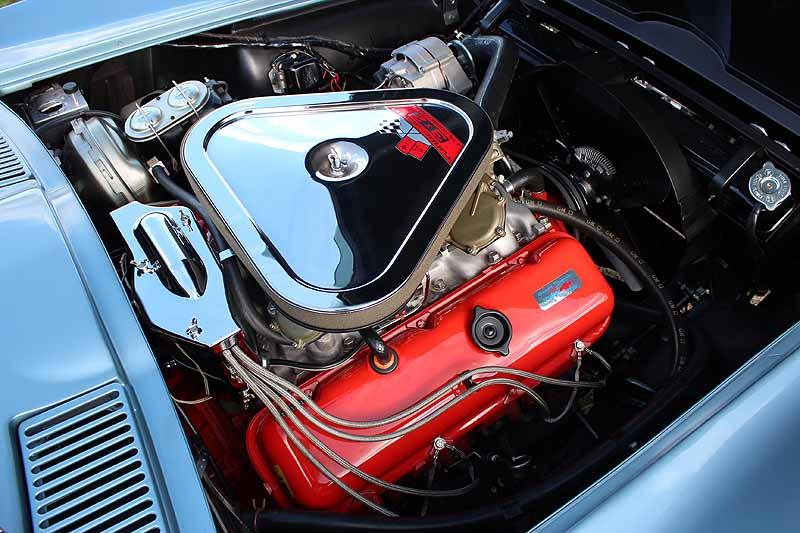 1967 CHEVROLET CORVETTE CONVERTIBLE - Engine - 116196