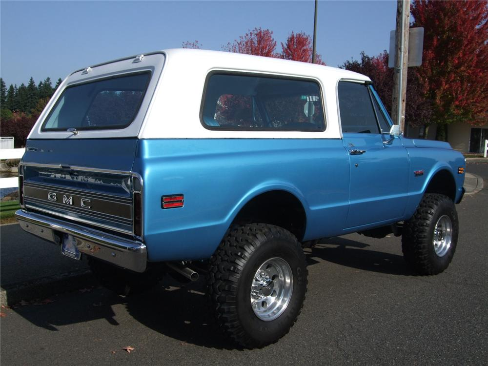 1972 GMC JIMMY CUSTOM 4X4 - Rear 3/4 - 116198