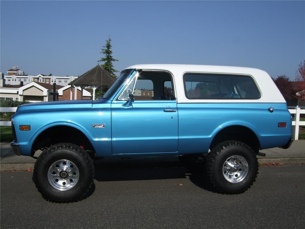 1972 GMC JIMMY CUSTOM 4X4 - Side Profile - 116198