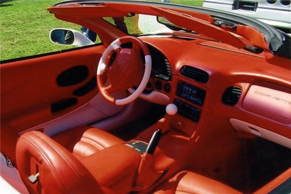 2000 CHEVROLET CORVETTE CUSTOM CONVERTIBLE - Interior - 116203