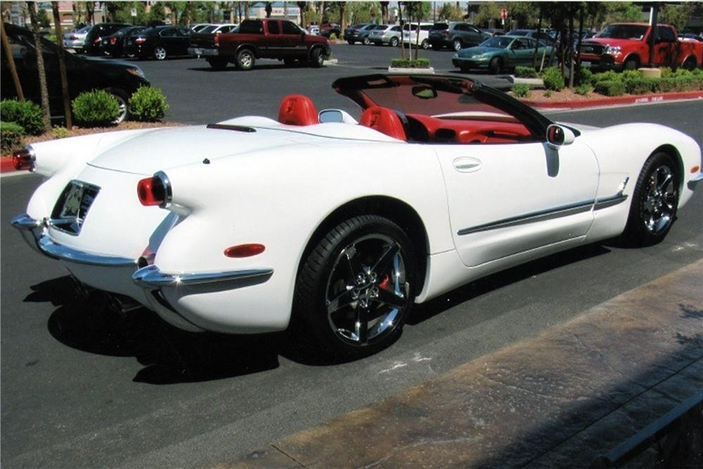 2000 CHEVROLET CORVETTE CUSTOM CONVERTIBLE - Rear 3/4 - 116203