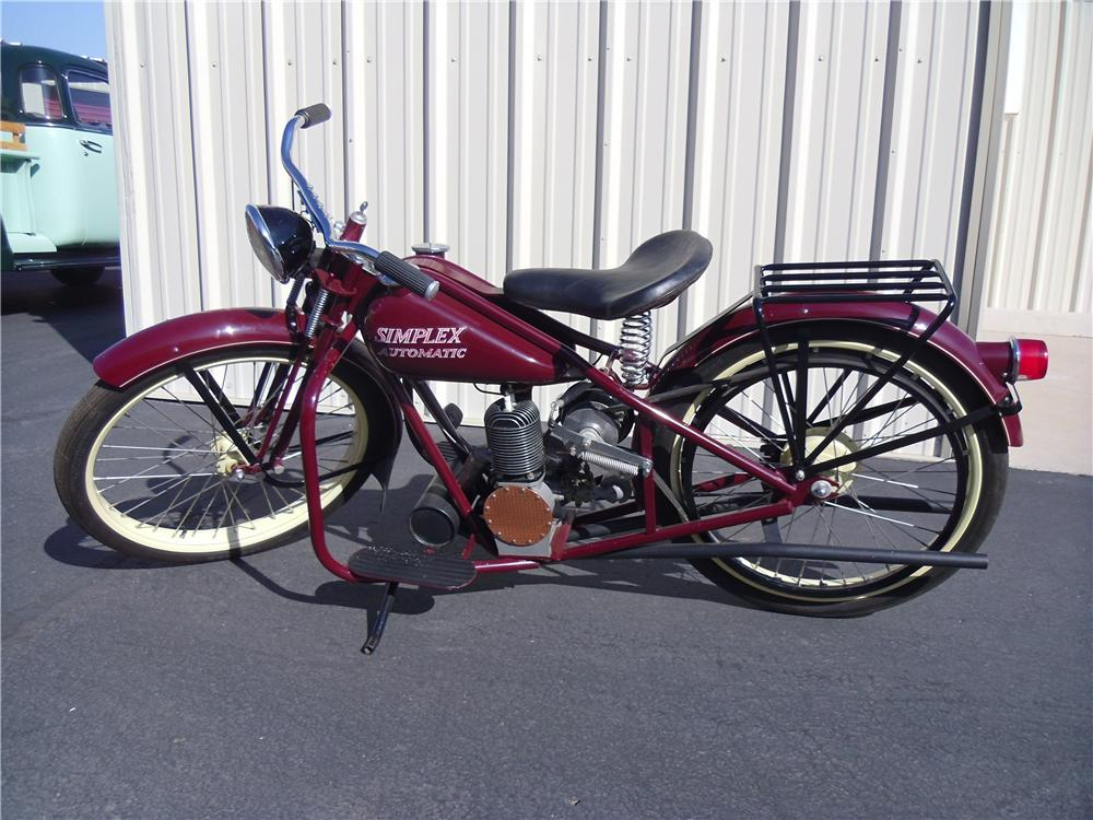 1957 SIMPLEX MOTORCYCLE - Side Profile - 116209