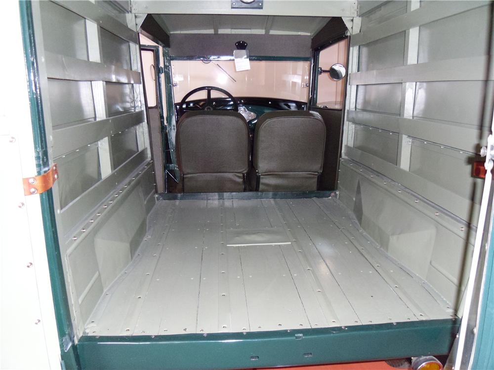 1930 FORD MODEL A PANEL DELIVERY TRUCK - Interior - 116210