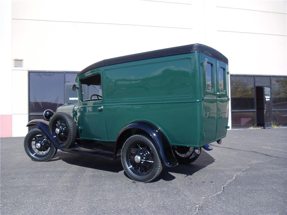 1930 FORD MODEL A PANEL DELIVERY TRUCK - Rear 3/4 - 116210