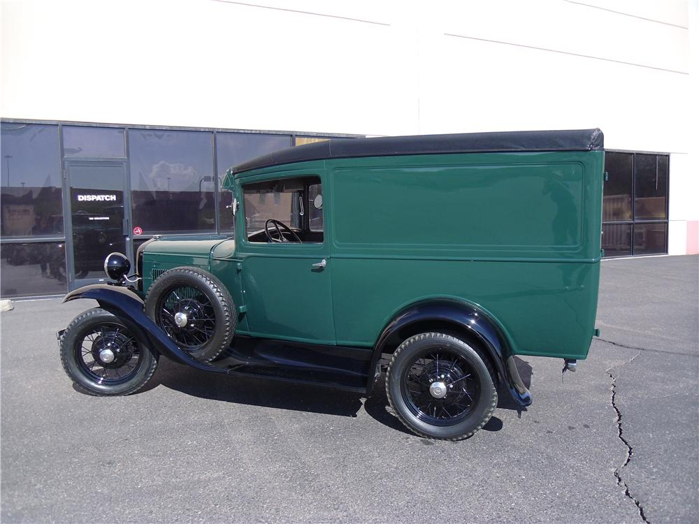 1930 FORD MODEL A PANEL DELIVERY TRUCK - Side Profile - 116210