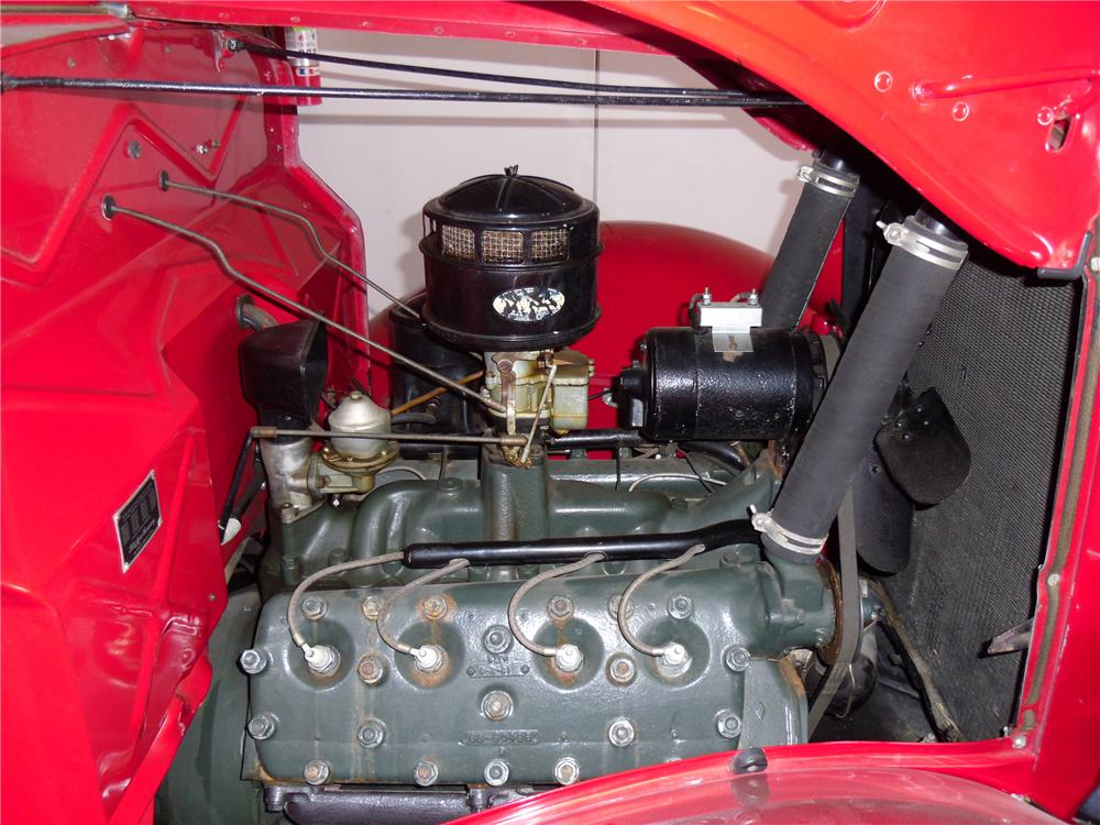 1936 FORD FLATBED TRUCK - Engine - 116211