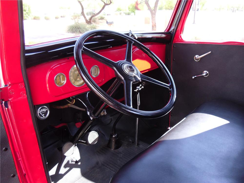 1936 FORD FLATBED TRUCK - Interior - 116211
