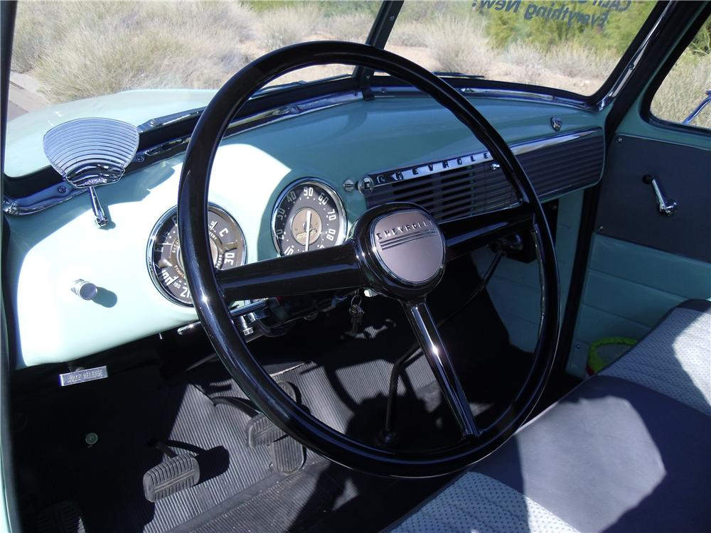 1953 CHEVROLET 3100 PICKUP - Interior - 116218