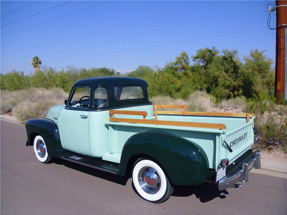 1953 CHEVROLET 3100 PICKUP - Rear 3/4 - 116218