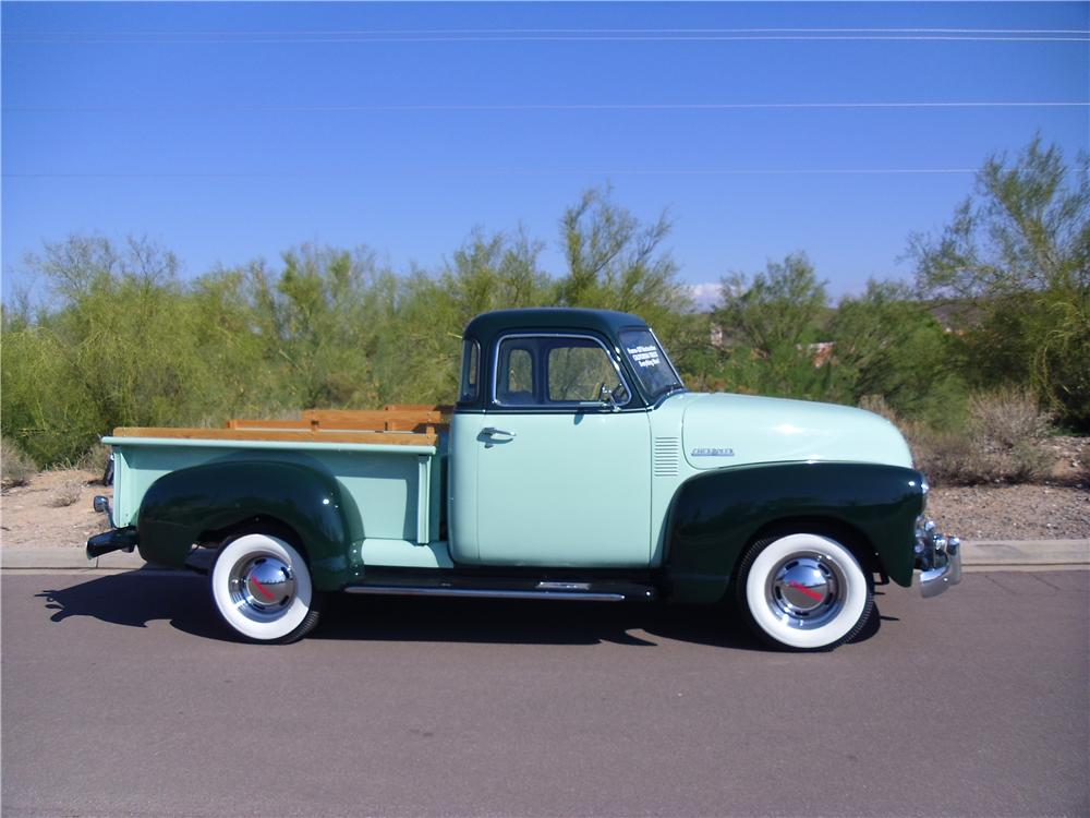 1953 CHEVROLET 3100 PICKUP - Side Profile - 116218