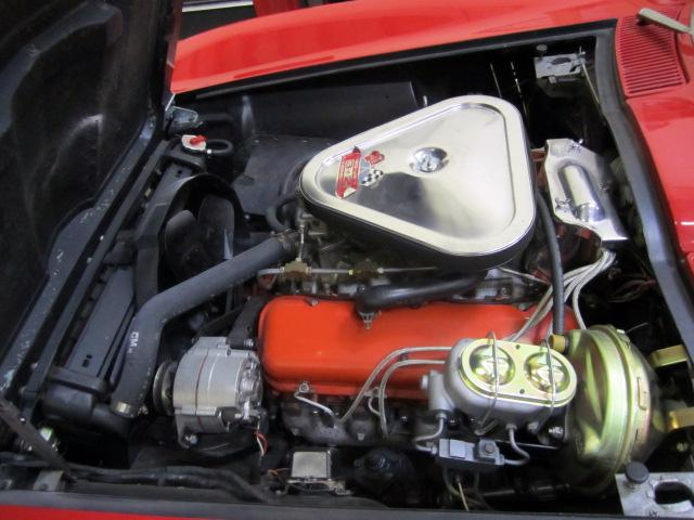 1967 CHEVROLET CORVETTE CONVERTIBLE - Engine - 116220