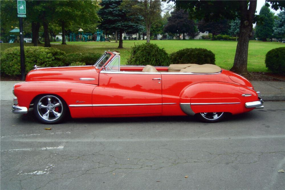 1947 BUICK SUPER CUSTOM CONVERTIBLE - Side Profile - 116222