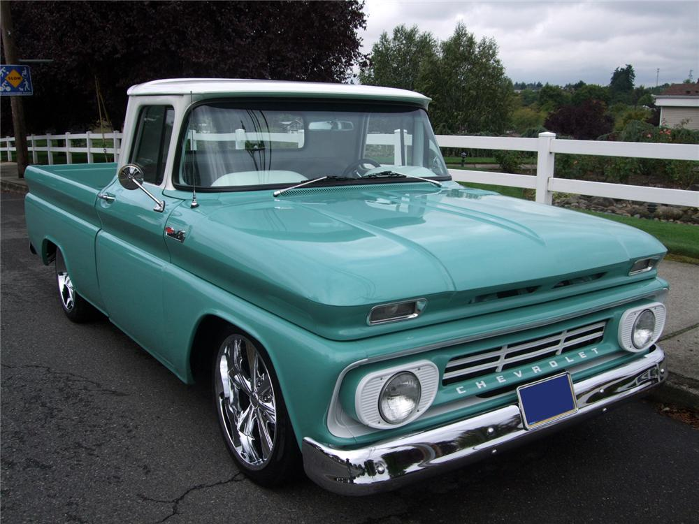 1962 CHEVROLET C-10 CUSTOM PICKUP - 116225
