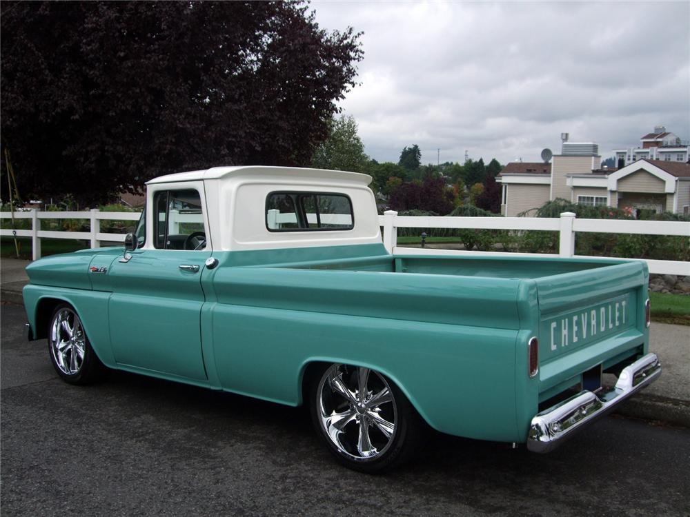 New Chevy Pickup >> 1962 CHEVROLET C-10 CUSTOM PICKUP - 116225