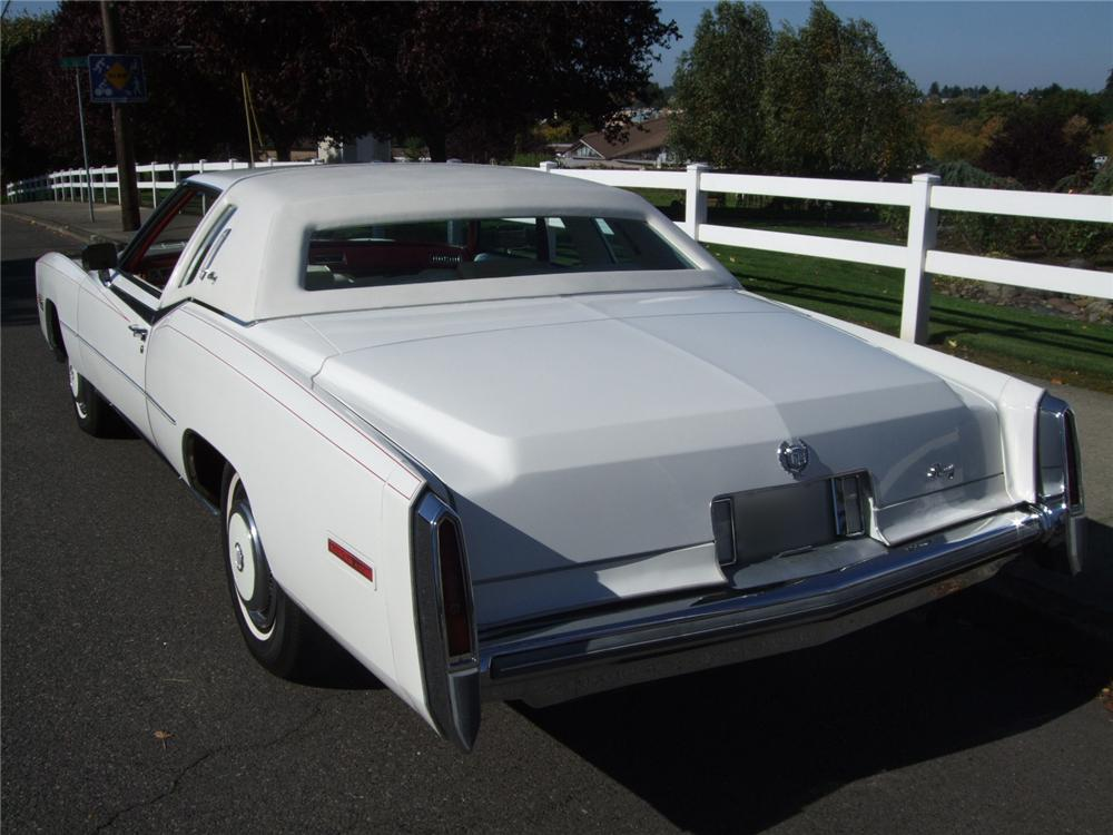 1978 CADILLAC ELDORADO BIARRITZ 2 DOOR COUPE - Rear 3/4 - 116227