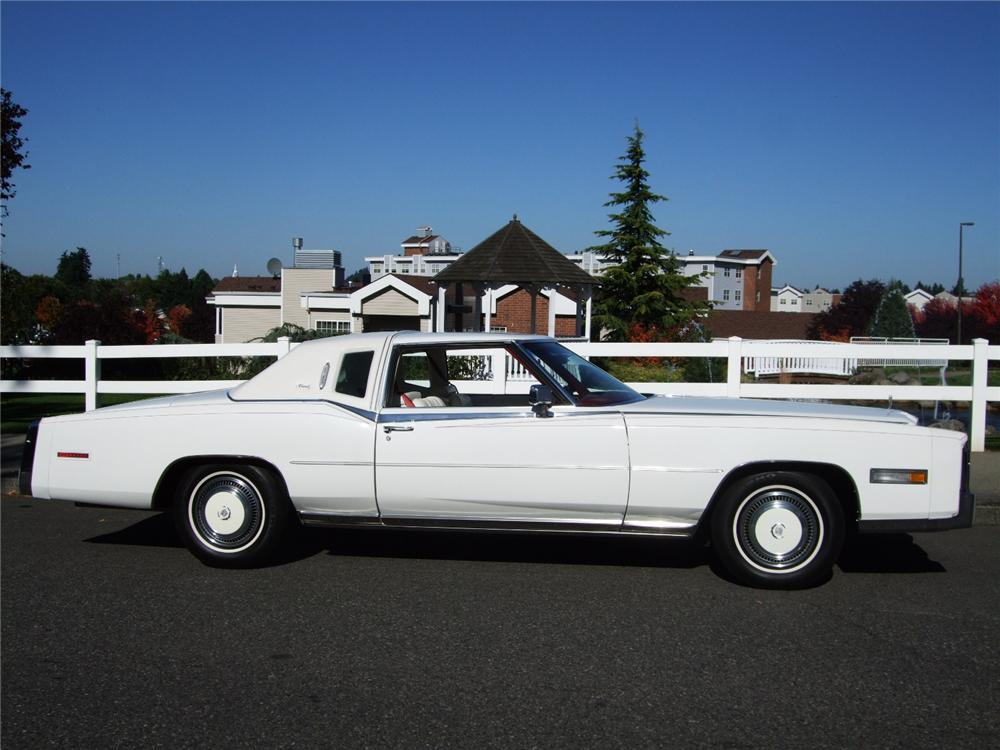 1978 CADILLAC ELDORADO BIARRITZ 2 DOOR COUPE - Side Profile - 116227