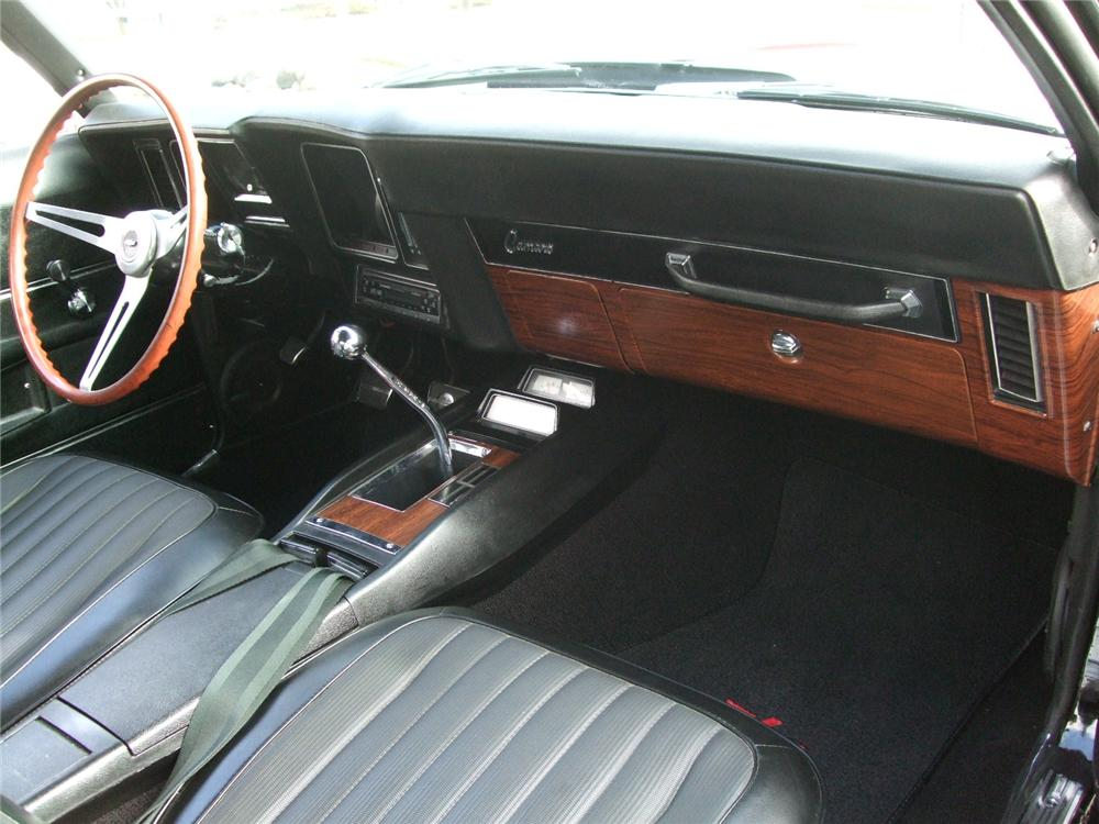 1969 CHEVROLET CAMARO Z/28 COUPE - Interior - 116229