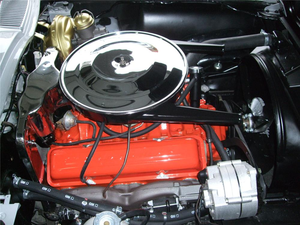1964 CHEVROLET CORVETTE CONVERTIBLE - Engine - 116230