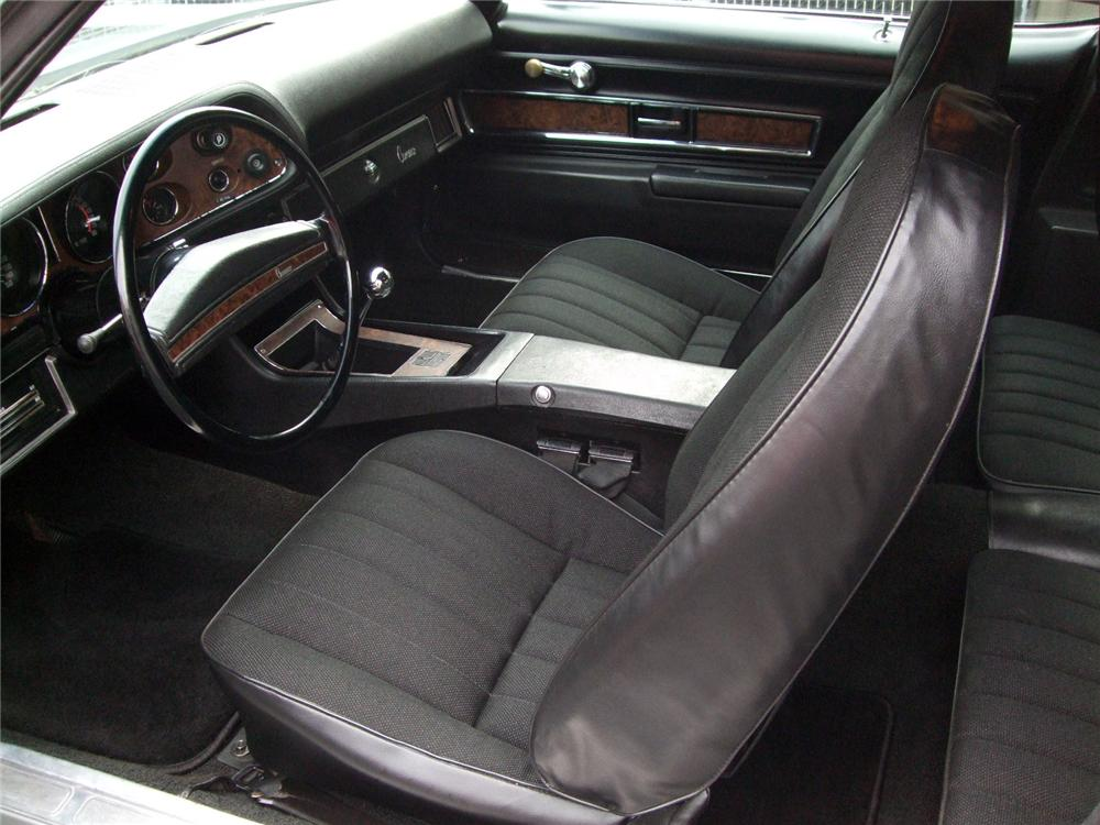 1971 CHEVROLET CAMARO Z/28 COUPE - Interior - 116231