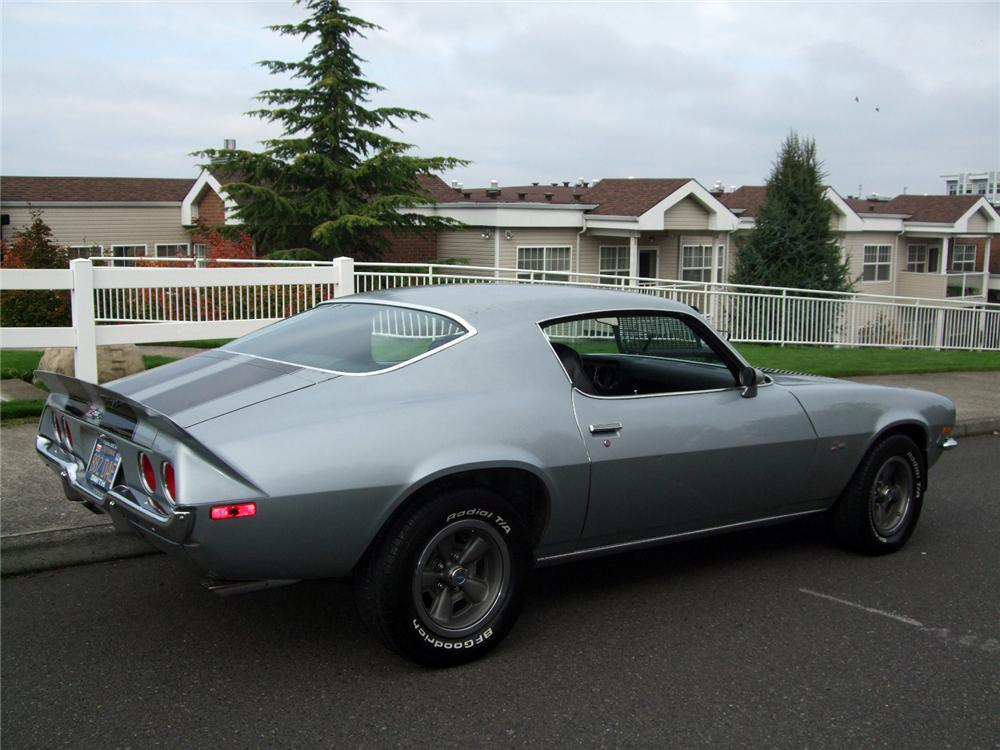 1971 CHEVROLET CAMARO Z/28 COUPE - Rear 3/4 - 116231