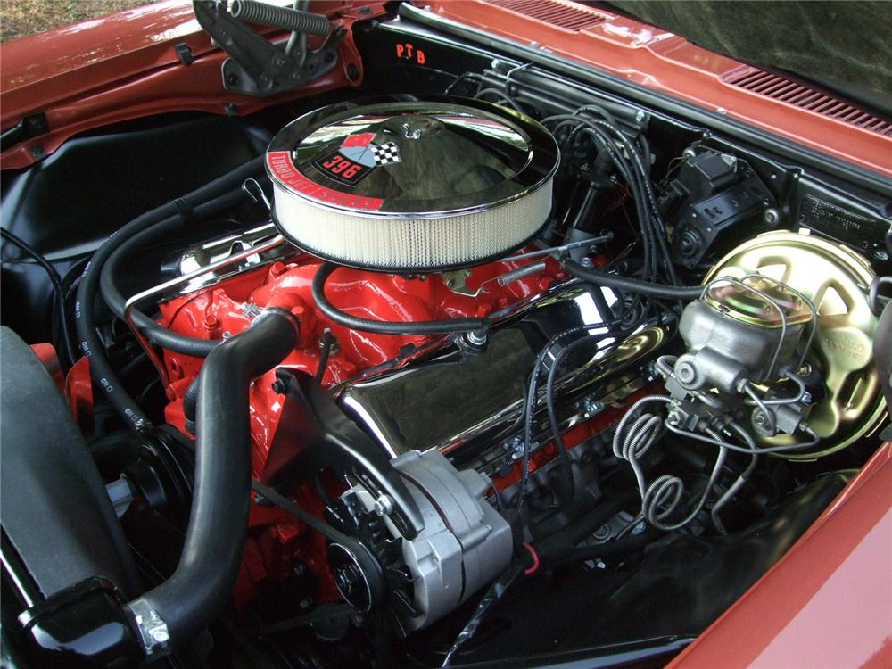 1968 CHEVROLET CAMARO SS CONVERTIBLE - Engine - 116233