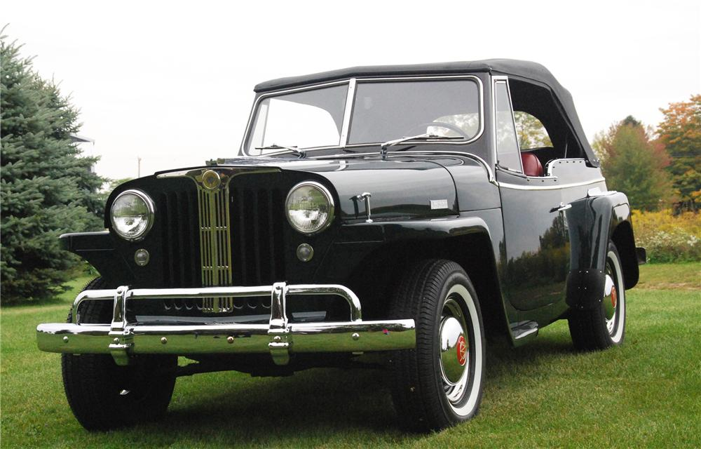 1949 WILLYS JEEPSTER CONVERTIBLE - Front 3/4 - 116244