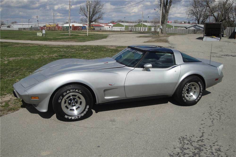 1979 CHEVROLET CORVETTE 2 DOOR COUPE - Side Profile - 116247