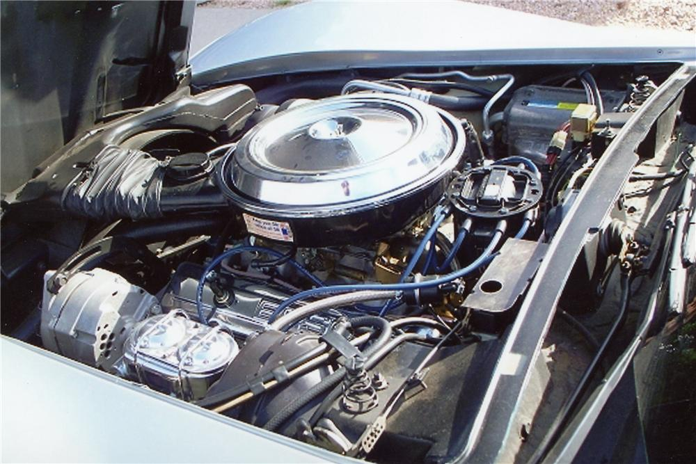1981 CHEVROLET CORVETTE 2 DOOR COUPE - Engine - 116253