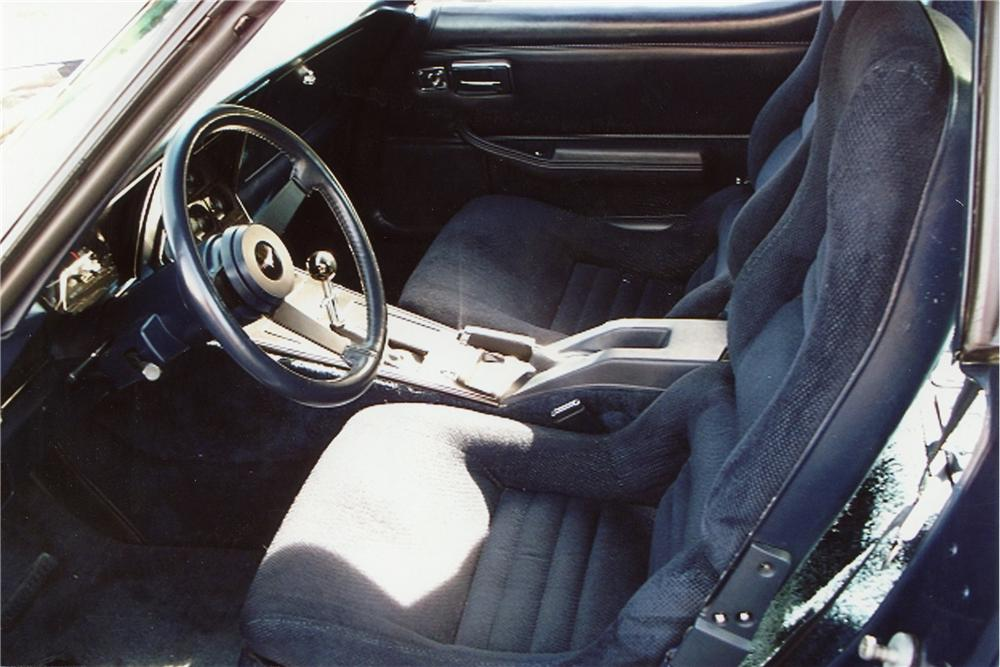 1981 CHEVROLET CORVETTE 2 DOOR COUPE - Interior - 116253