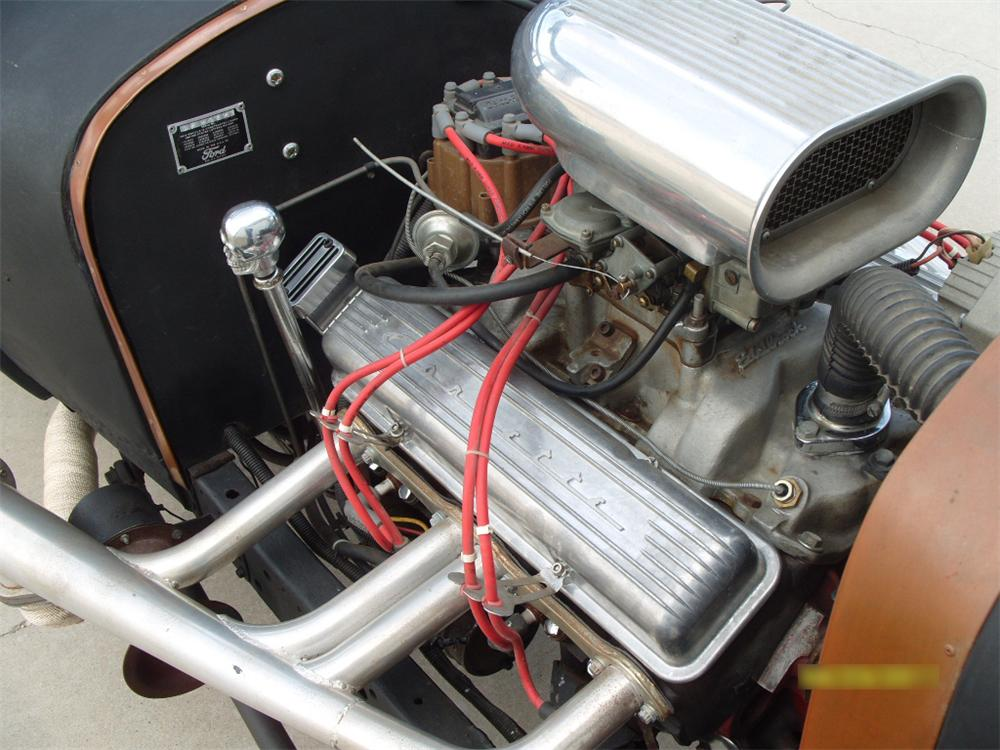 1927 FORD MODEL T CUSTOM COUPE - Engine - 116259