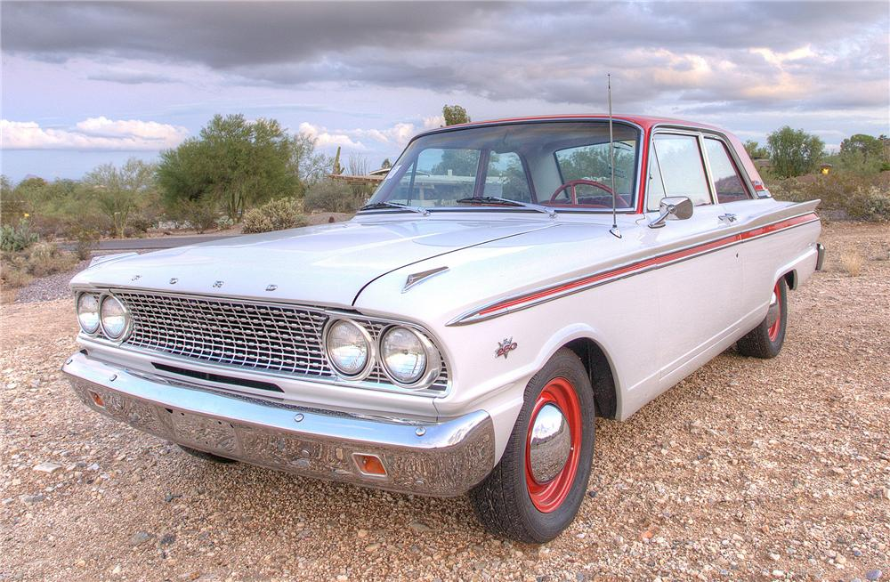 1963 FORD FAIRLANE 500 2 DOOR COUPE - Front 3/4 - 116260