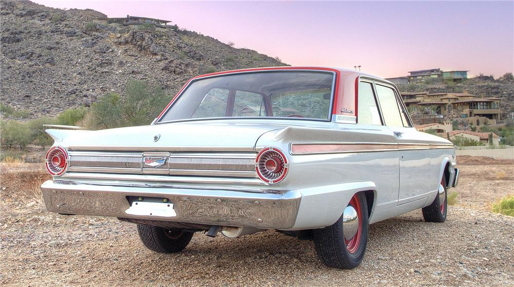 1963 FORD FAIRLANE 500 2 DOOR COUPE - Rear 3/4 - 116260