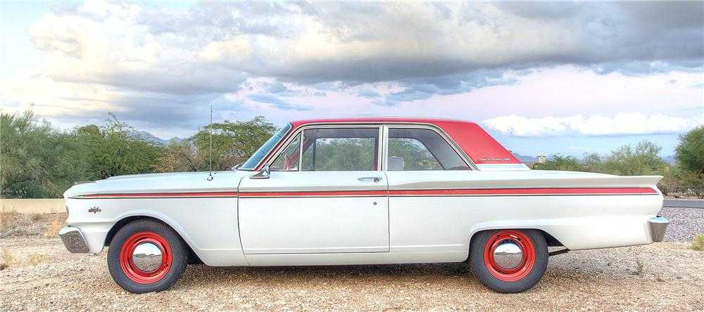 1963 FORD FAIRLANE 500 2 DOOR COUPE - Side Profile - 116260