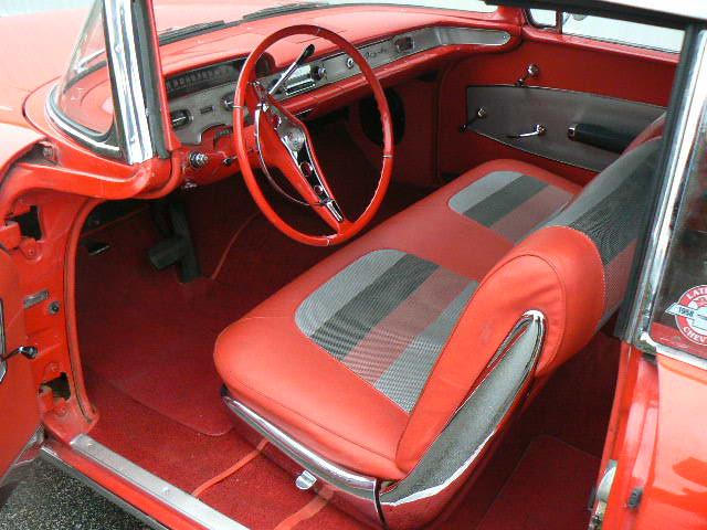 1958 CHEVROLET IMPALA 2 DOOR CONVERTIBLE - Interior - 116265