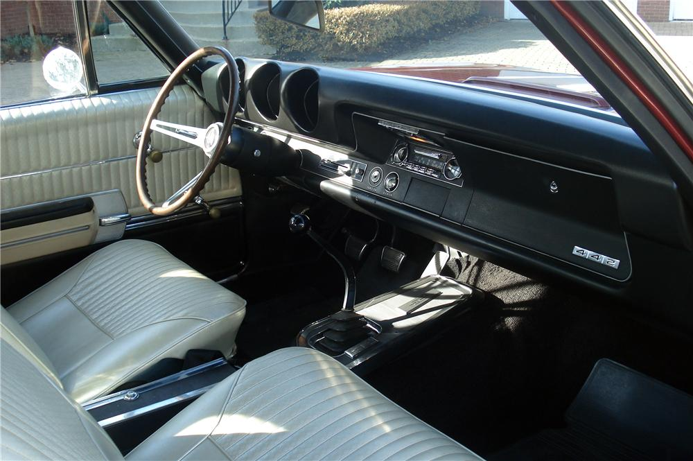 1968 OLDSMOBILE 442 CONVERTIBLE - Interior - 116279