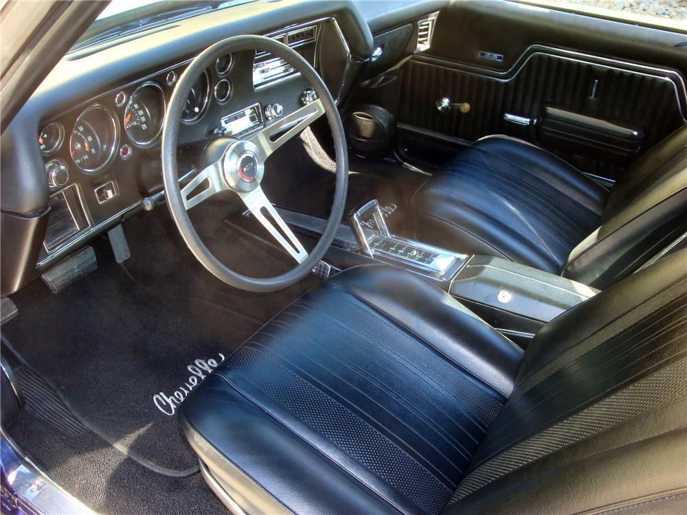 1970 CHEVROLET CHEVELLE HARDTOP SS 454 RE-CREATION - Interior - 116280