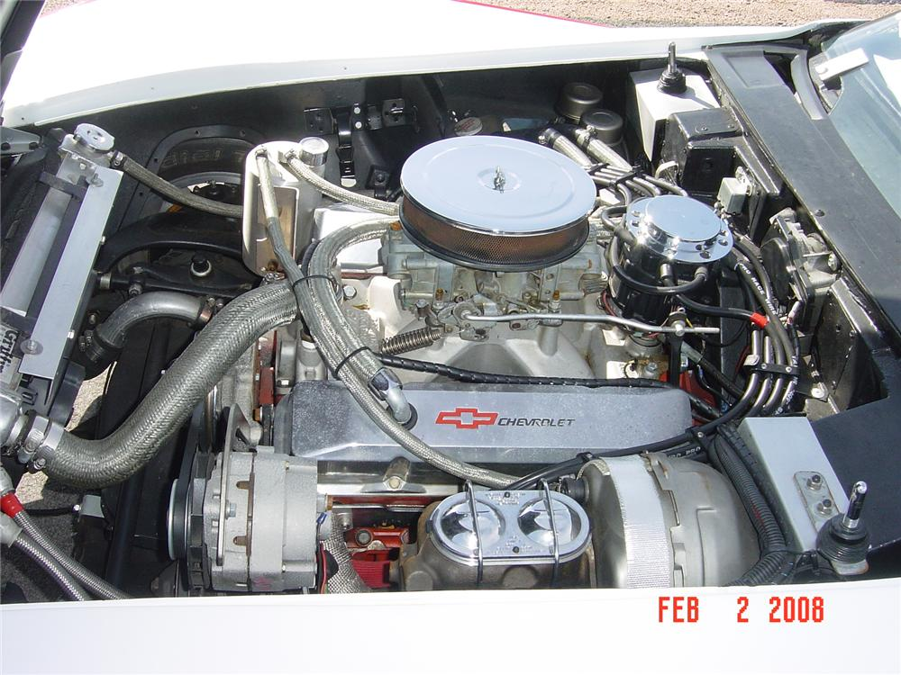 1969 CHEVROLET CORVETTE CUSTOM RACE CAR - Engine - 116283