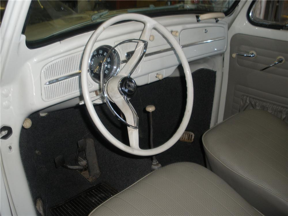 Interior: 1962 VOLKSWAGEN BEETLE 2 DOOR COUPE116289