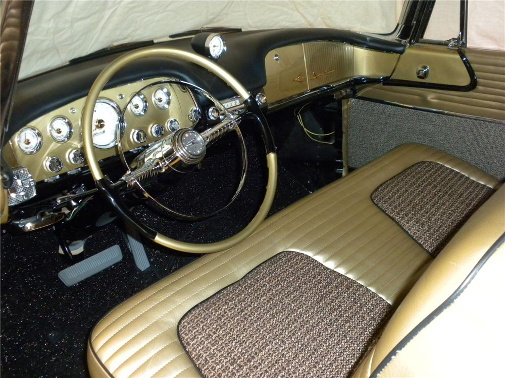 1956 DESOTO ADVENTURER CONVERTIBLE - Interior - 116293