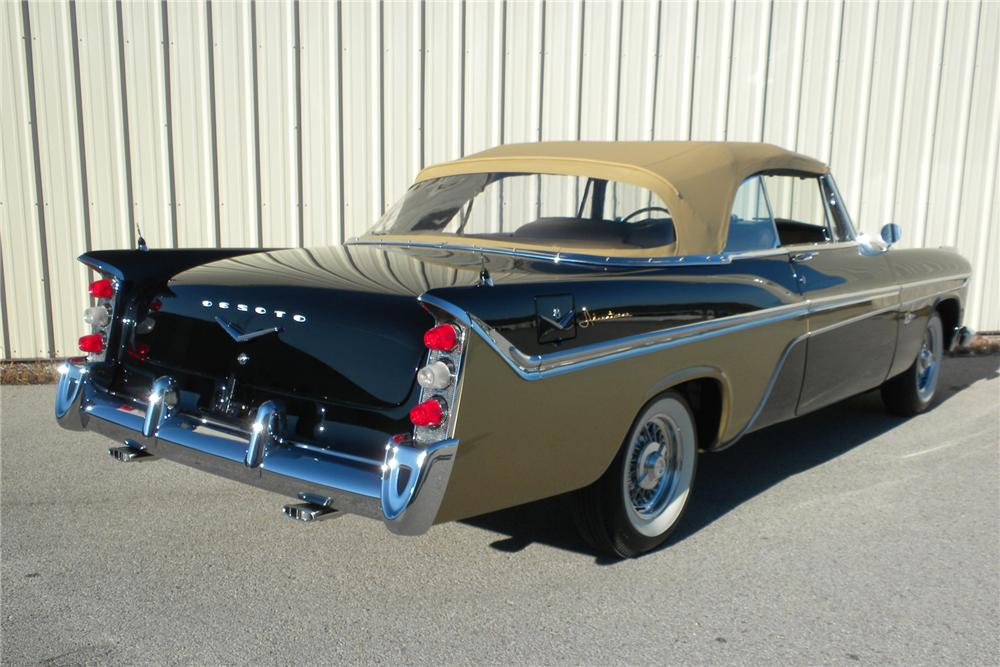 1956 DESOTO ADVENTURER CONVERTIBLE - Rear 3/4 - 116293