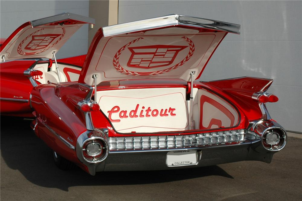 1959 HOMEMADE CUSTOM SEDAN DEVILLE TRAILER - Rear 3/4 - 116295