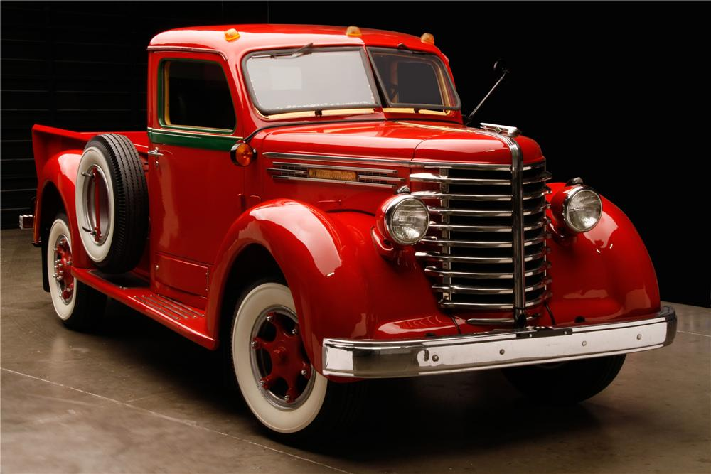 1949 DIAMOND T 201 PICKUP - Front 3/4 - 116296