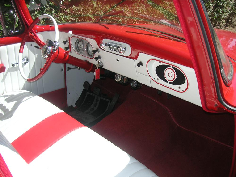 1961 STUDEBAKER CHAMP PICKUP - Interior - 116298