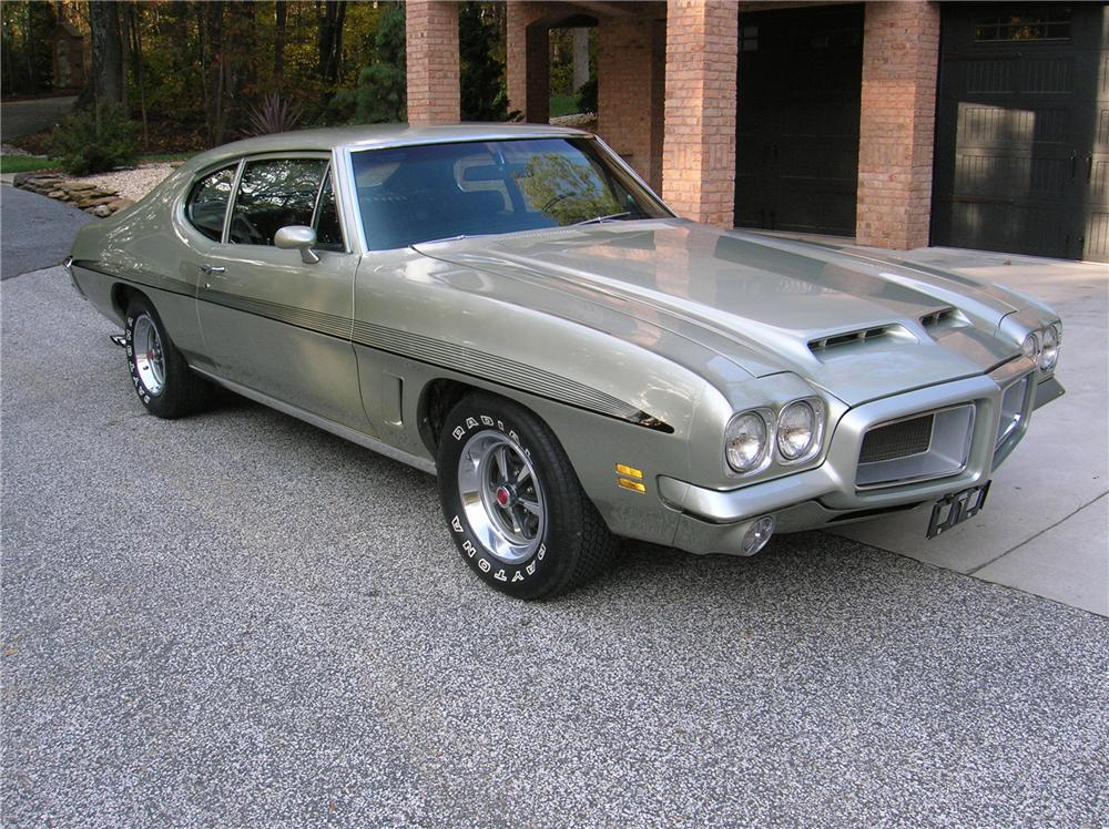 1972 PONTIAC GTO 2 DOOR COUPE - Front 3/4 - 116300