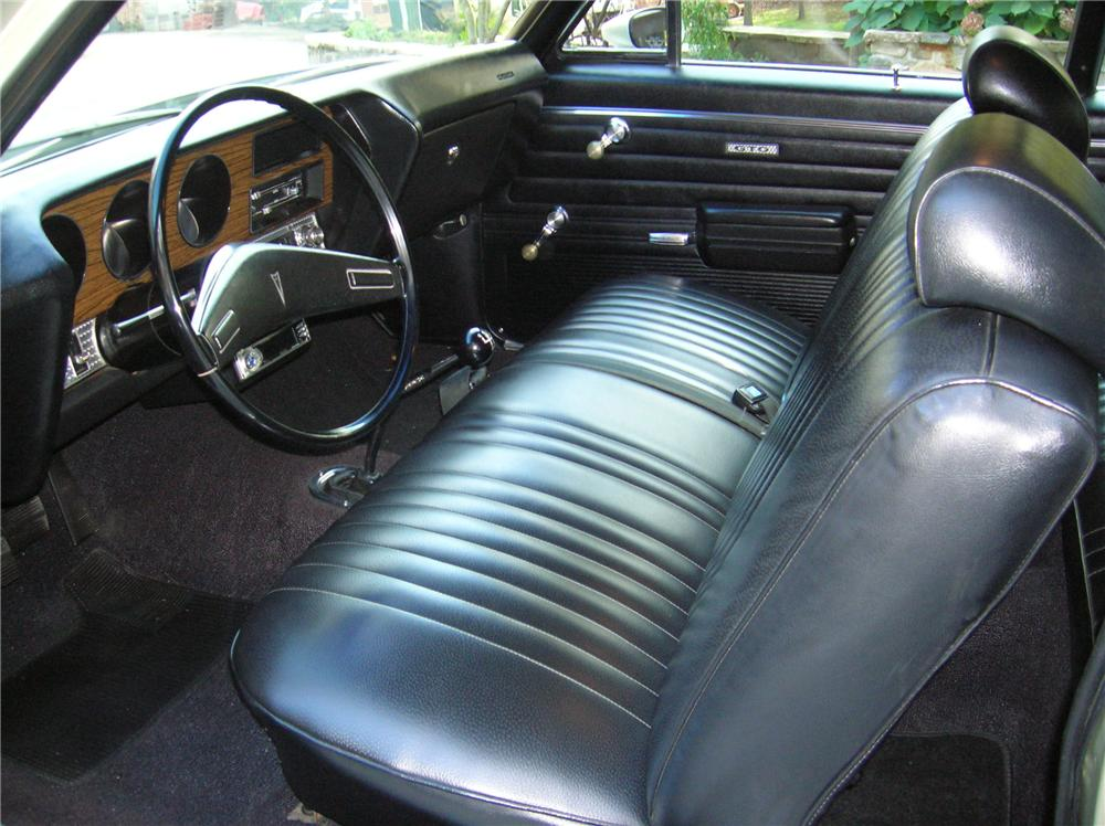 1972 PONTIAC GTO 2 DOOR COUPE - Interior - 116300