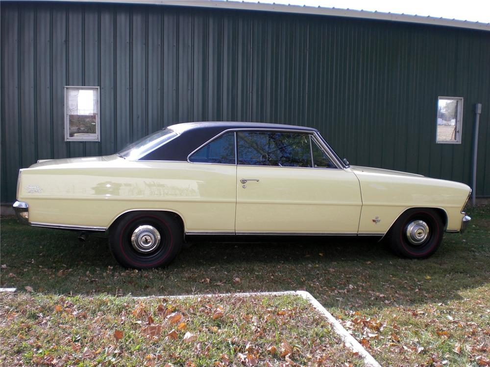 1967 CHEVROLET NOVA SS 2 DOOR HARDTOP - Side Profile - 116310