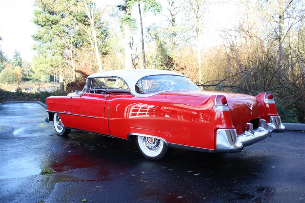 1954 CADILLAC DE VILLE COUPE - Rear 3/4 - 116313