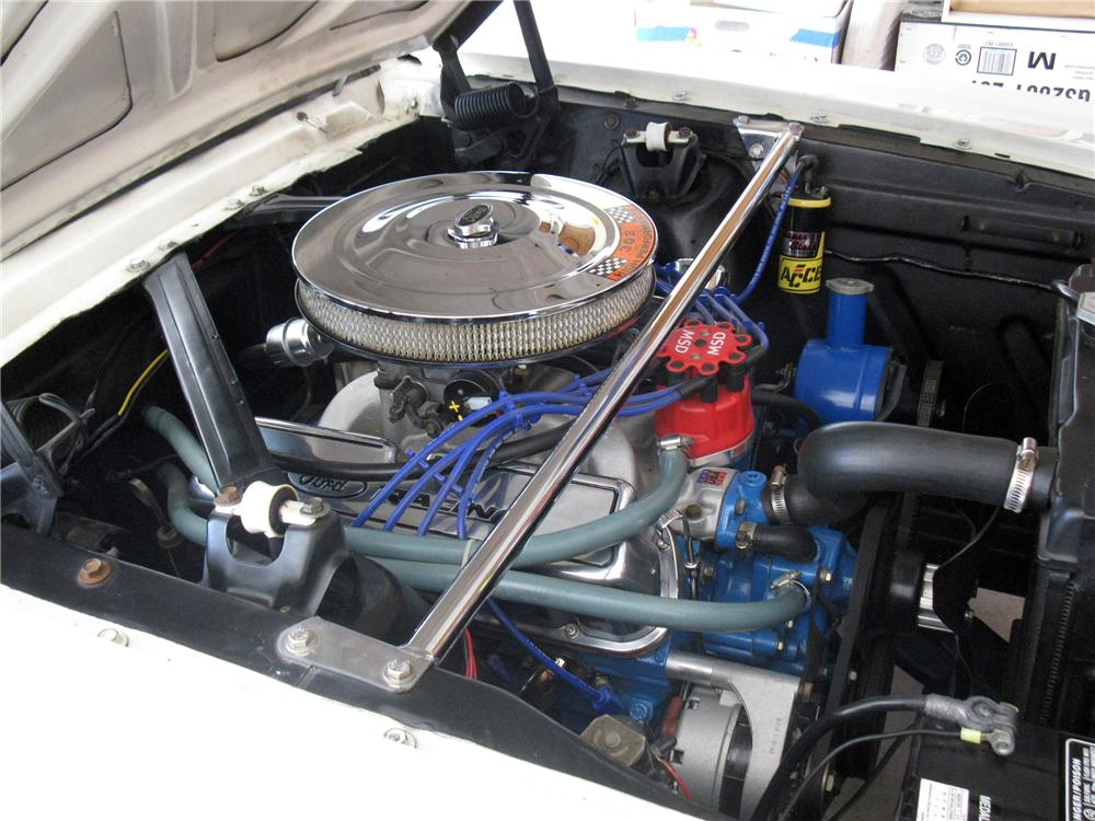 1966 FORD MUSTANG CUSTOM COUPE - Engine - 116317