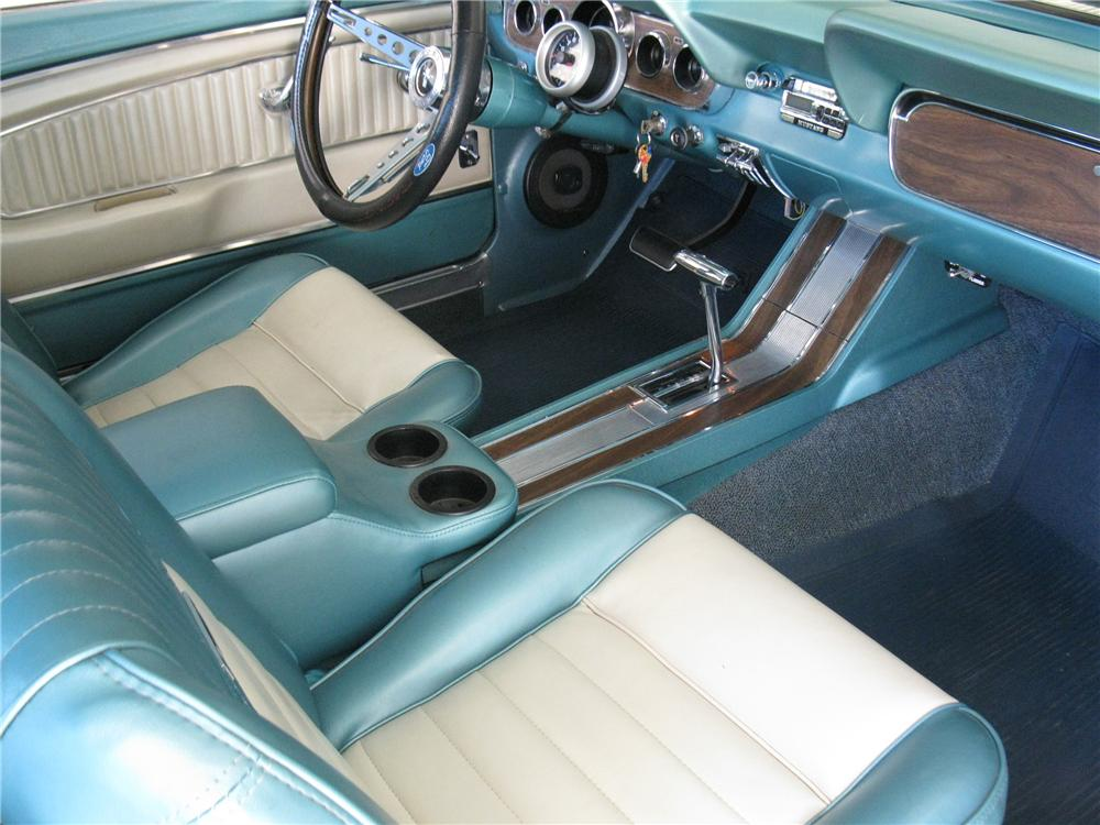 1966 ford mustang custom coupe 116317. Black Bedroom Furniture Sets. Home Design Ideas